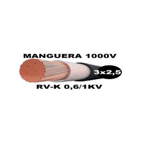 Manguera 1000v 3x2.5mm2