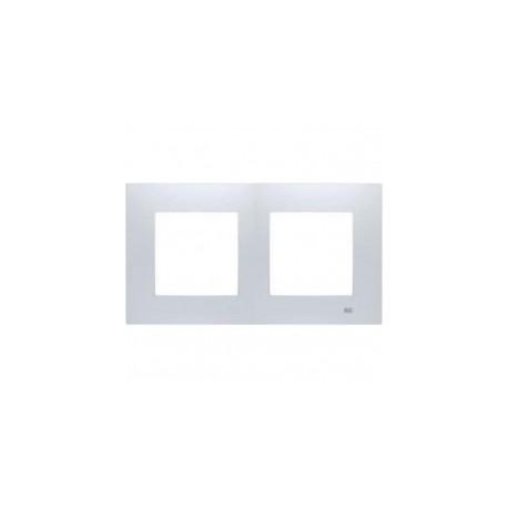 marco de 2 elementos bjc viva en color blanco