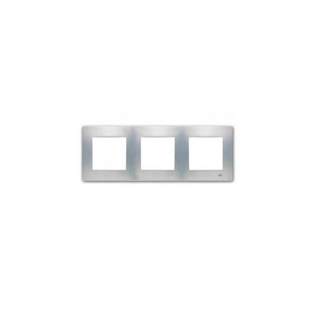 marco de 3 elementos bjc viva en color blanco