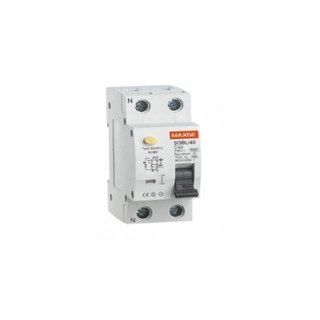 interruptor diferencial industrial 2 polos + neutro 30ma