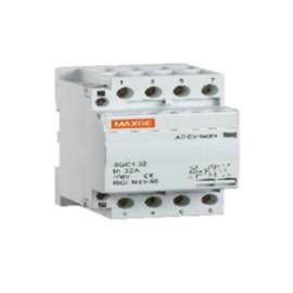 contactor modular 4 polos 63 amperios 230v ac-2no